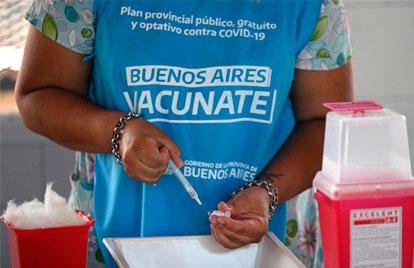 Vacunación contra el Covid-19 en Argentina.